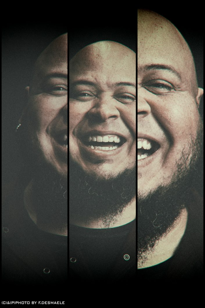Abe Laboriel Triplefaces by Francesco Desmaele