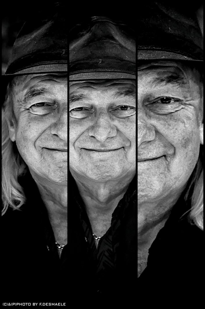 Alan White Triplefaces by Francesco Desmaele