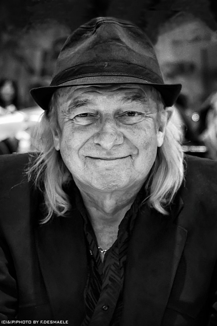 Alan White Portrait by Francesco Desmaele