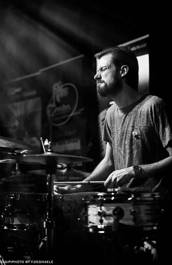 Benny Greb Live by Francesco Desmaele