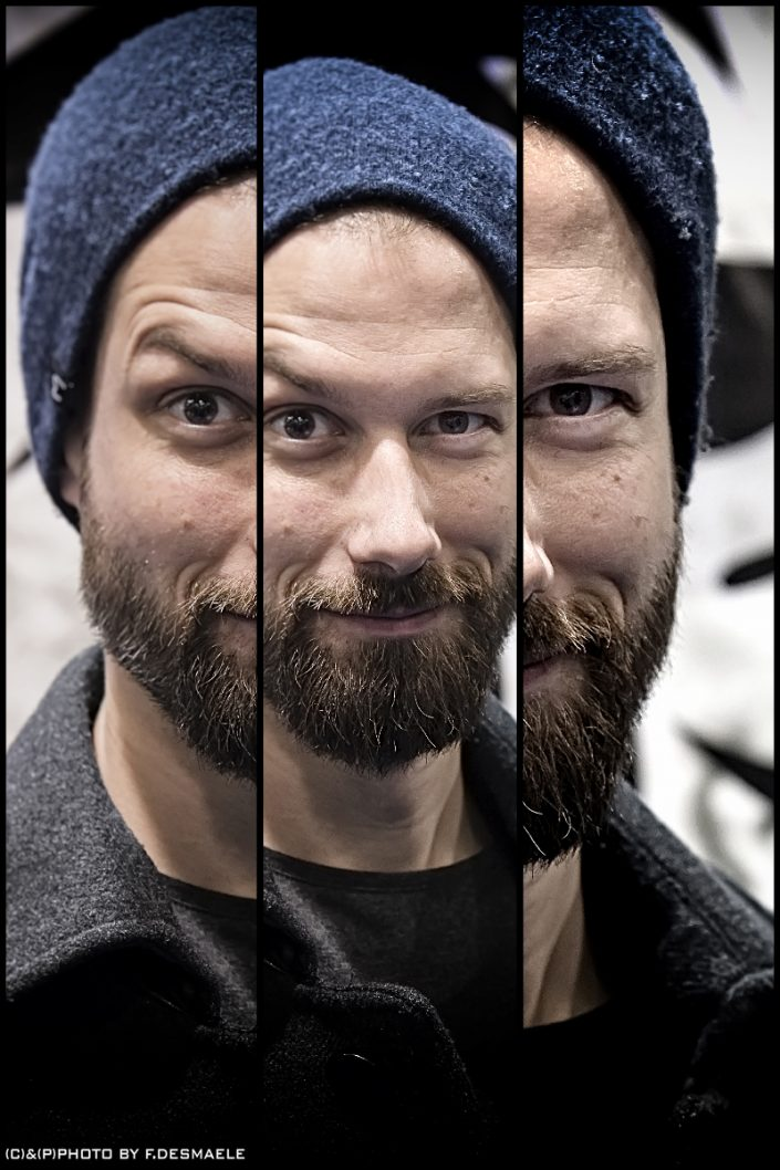 Benny Greb Triplefaces by Francesco Desmaele