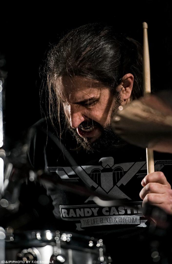 Brian Tichy Live by Francesco Desmaele
