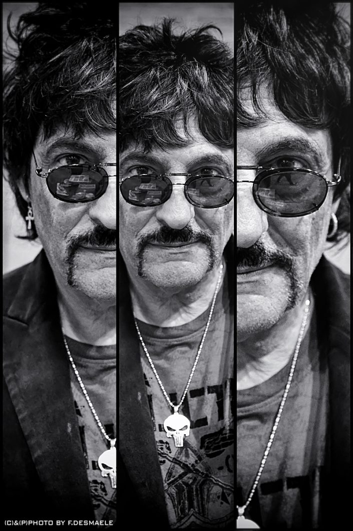 Carmine Appice Triplefaces by Francesco Desmaele