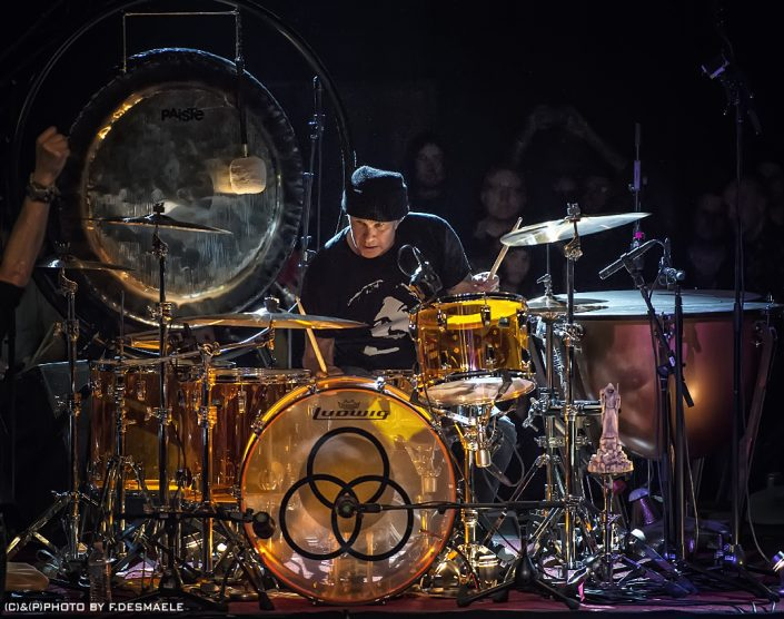 Chad Smith Live by Francesco Desmaele