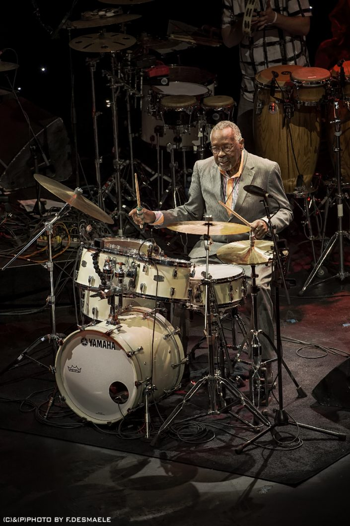 Clyde Stubblefield Live by Francesco Desmaele