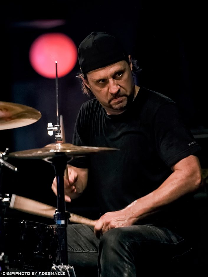 Dave Lombardo Live by Francesco Desmaele