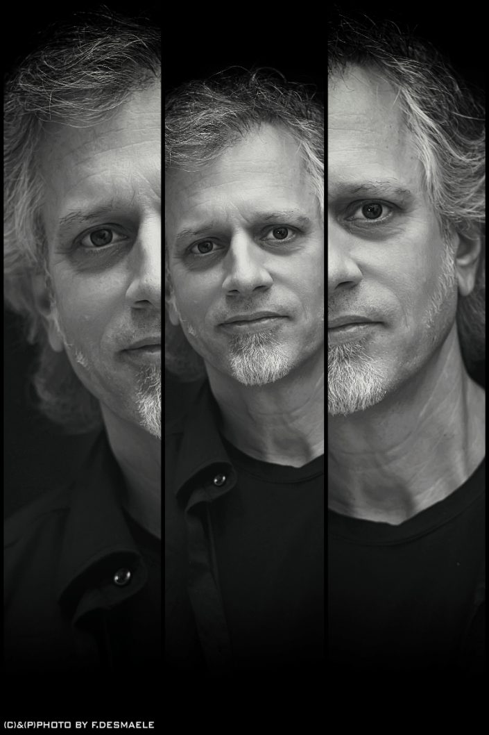 Dave Weckl Triplefaces by Francesco Desmaele