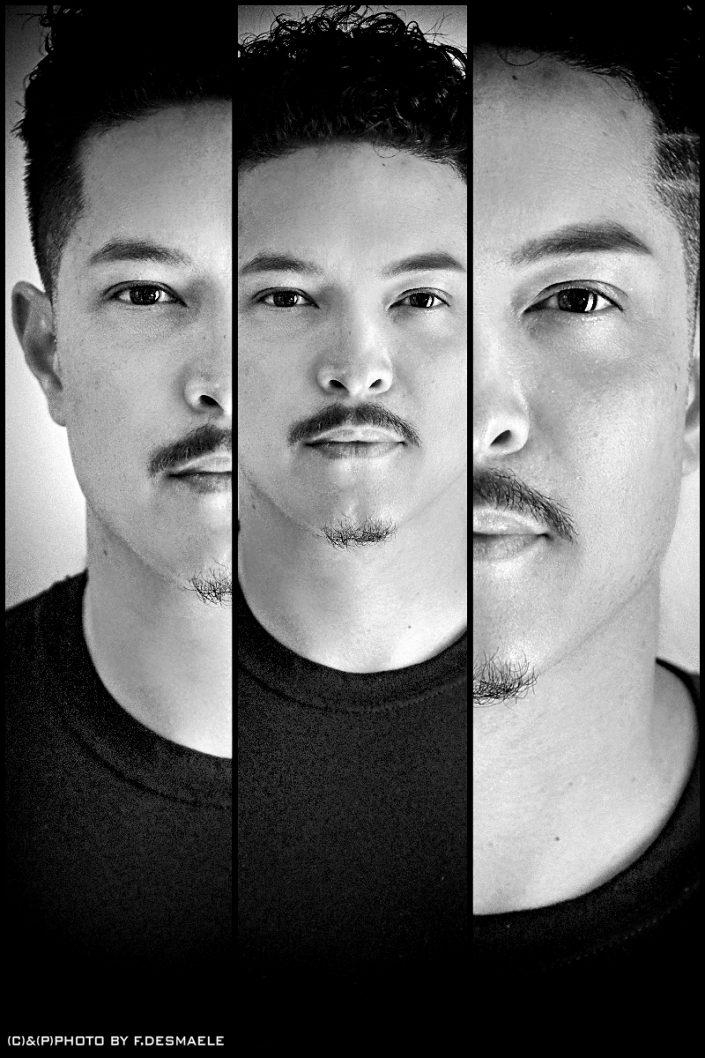 Eric E-Panda Hernandez Triplefaces by Francesco Desmaele