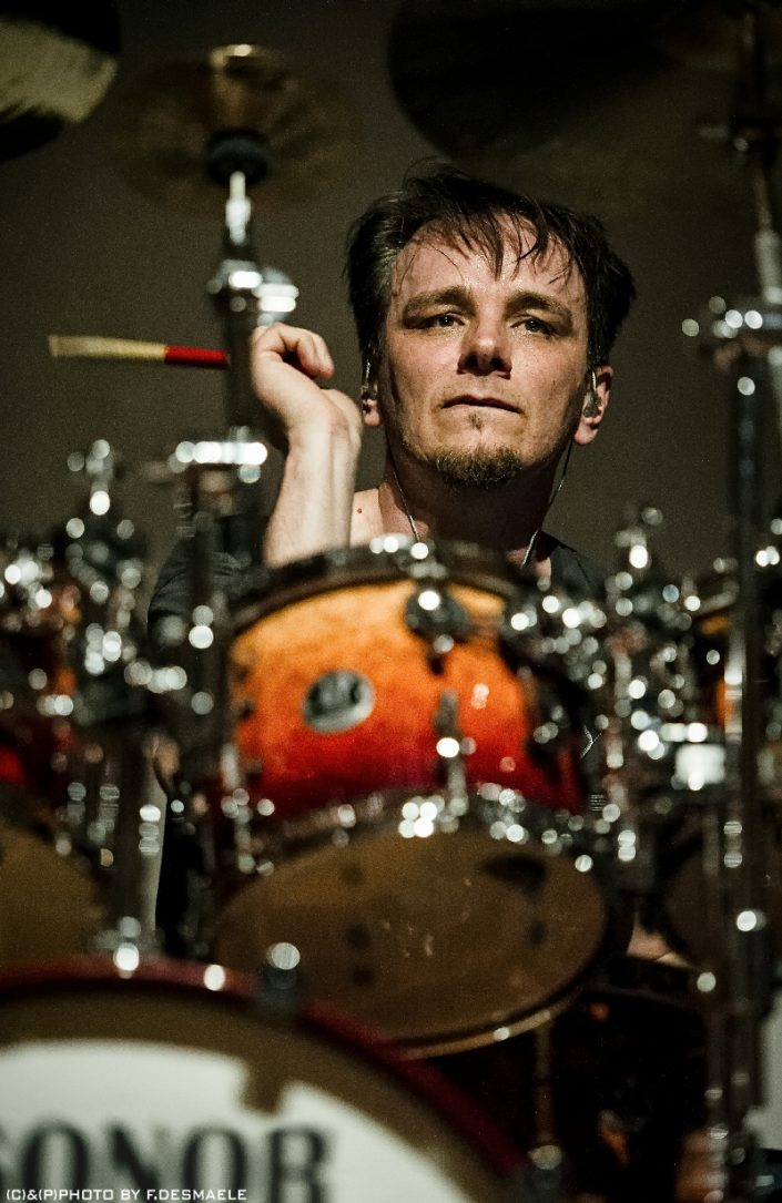 Gavin Harrison Live by Francesco Desmaele