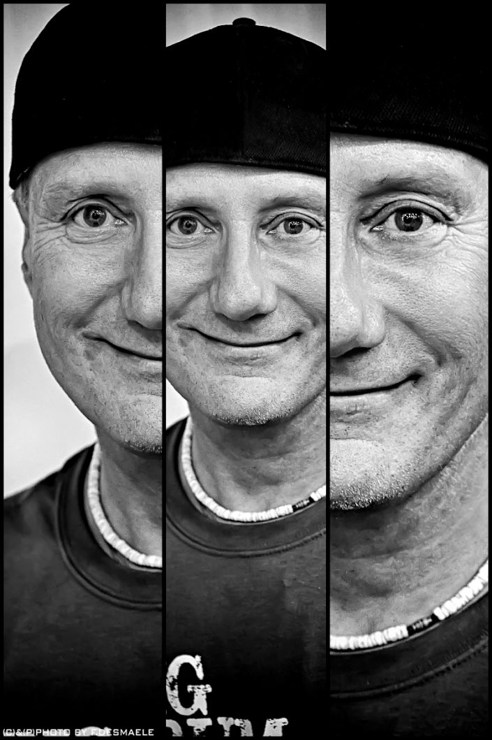Gregg Bissonette Triplefaces by Francesco Desmaele