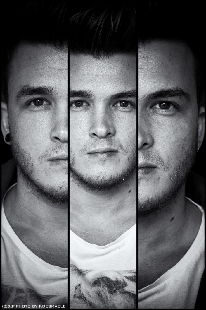 Josh Devine Triplefaces by Francesco Desmaele