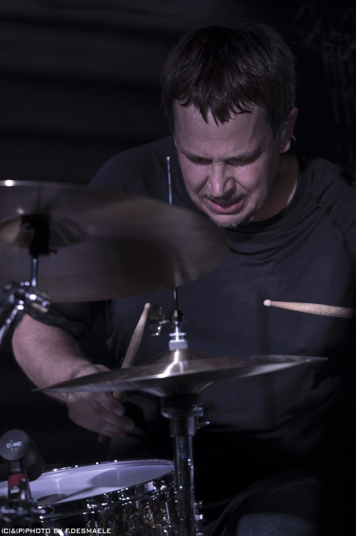 Keith Carlock Live by Francesco Desmaele
