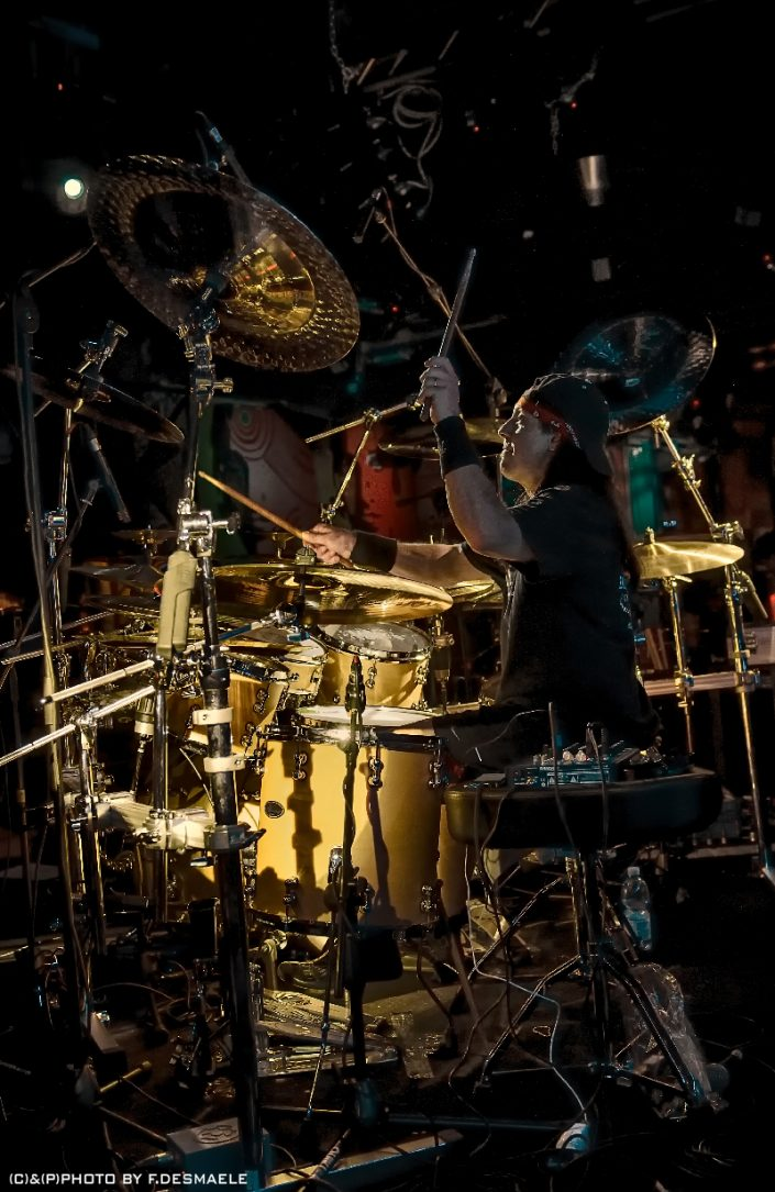 Mike Mangini Live by Francesco Desmaele