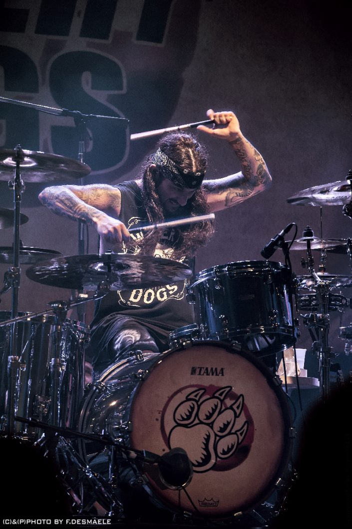 Mike Portnoy Live by Francesco Desmaele