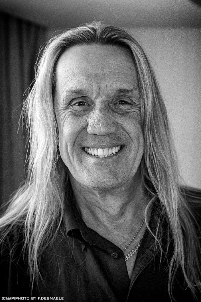 Nicko McBrain Portrait by Francesco Desmaele