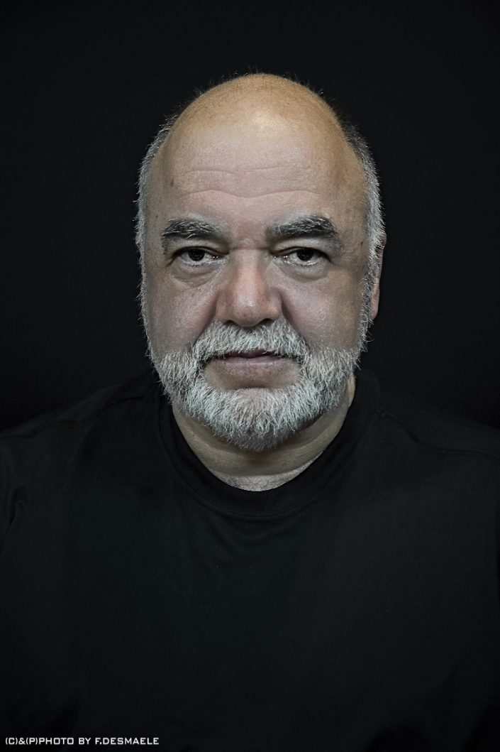 Peter Erskine Portrait by Francesco Desmaele