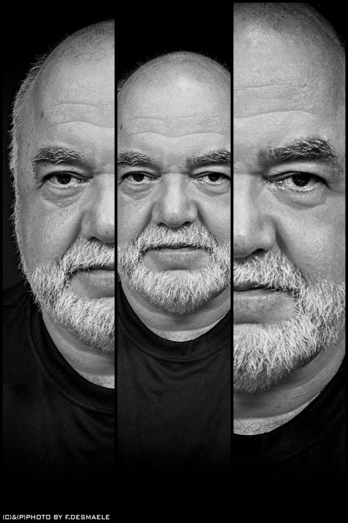 Peter Erskine Triplefaces by Francesco Desmaele