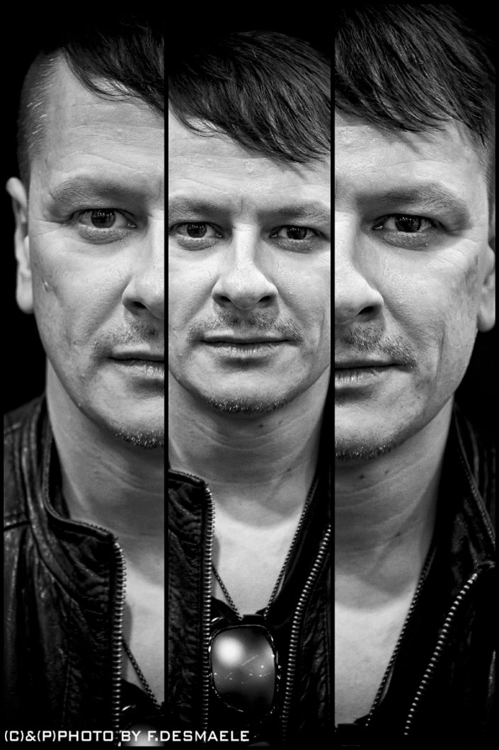 Ray Luzier Triplefaces by Francesco Desmaele