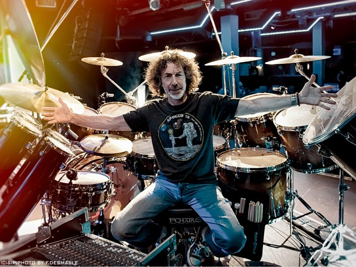 Simon Phillips Portrait by Francesco Desmaele