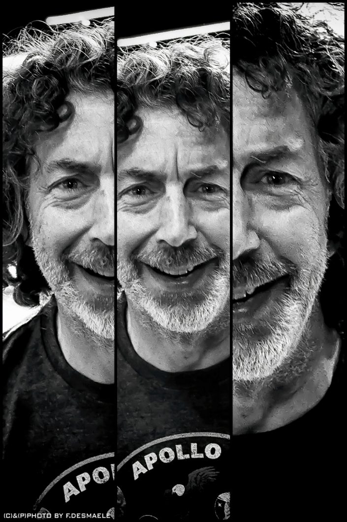 Simon Phillips Triplefaces by Francesco Desmaele