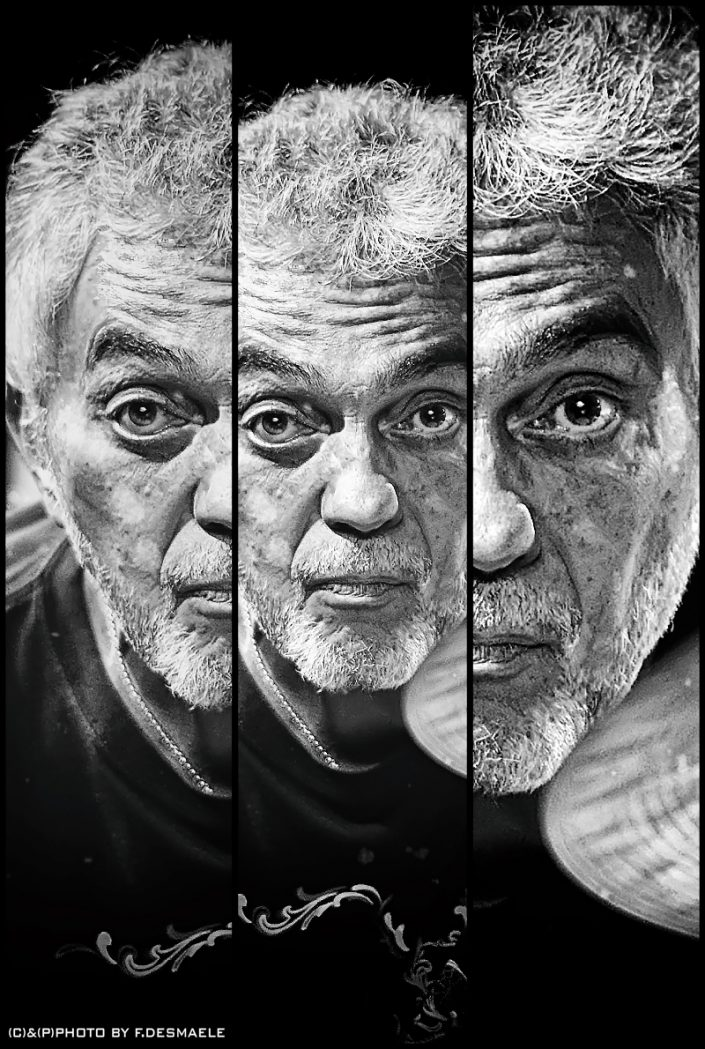 Steve Gadd Triplefaces by Francesco Desmaele