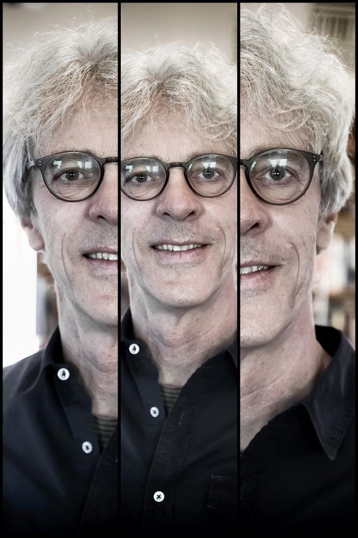 Stewart Copeland Triplefaces by Francesco Desmaele