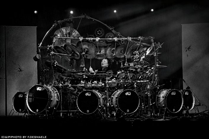 Terry Bozzio Live by Francesco Desmaele