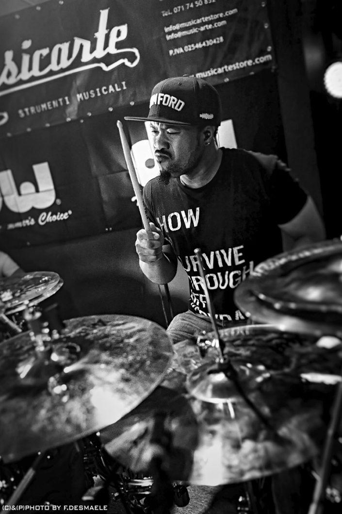 Tony Royster Jr. Live by Francesco Desmaele