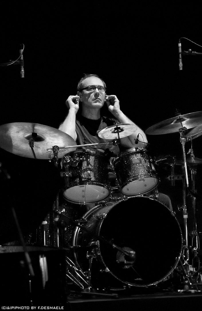 Vinnie Colaiuta Live by Francesco Desmaele