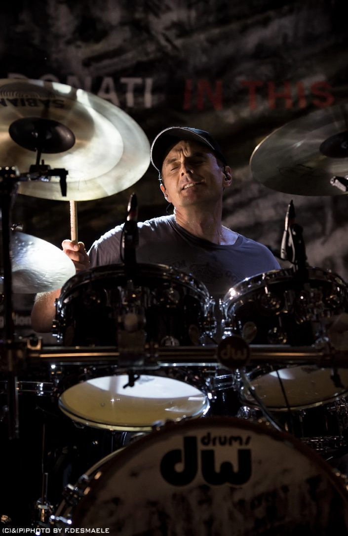 Virgil Donati Live by Francesco Desmaele