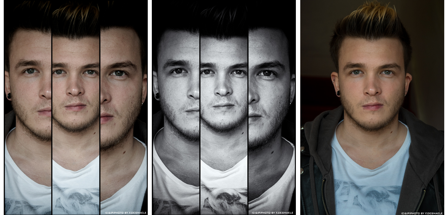 JOSH DEVINE- TRIPLEFACES PROJECT by Francesco Desmaele