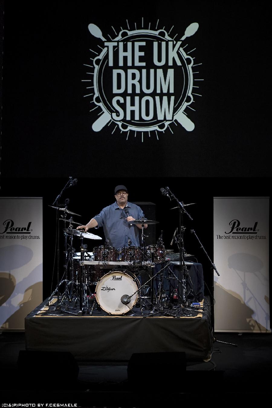 Francesco Desmaele The Uk Drum Show 2017 Dennis Chambers