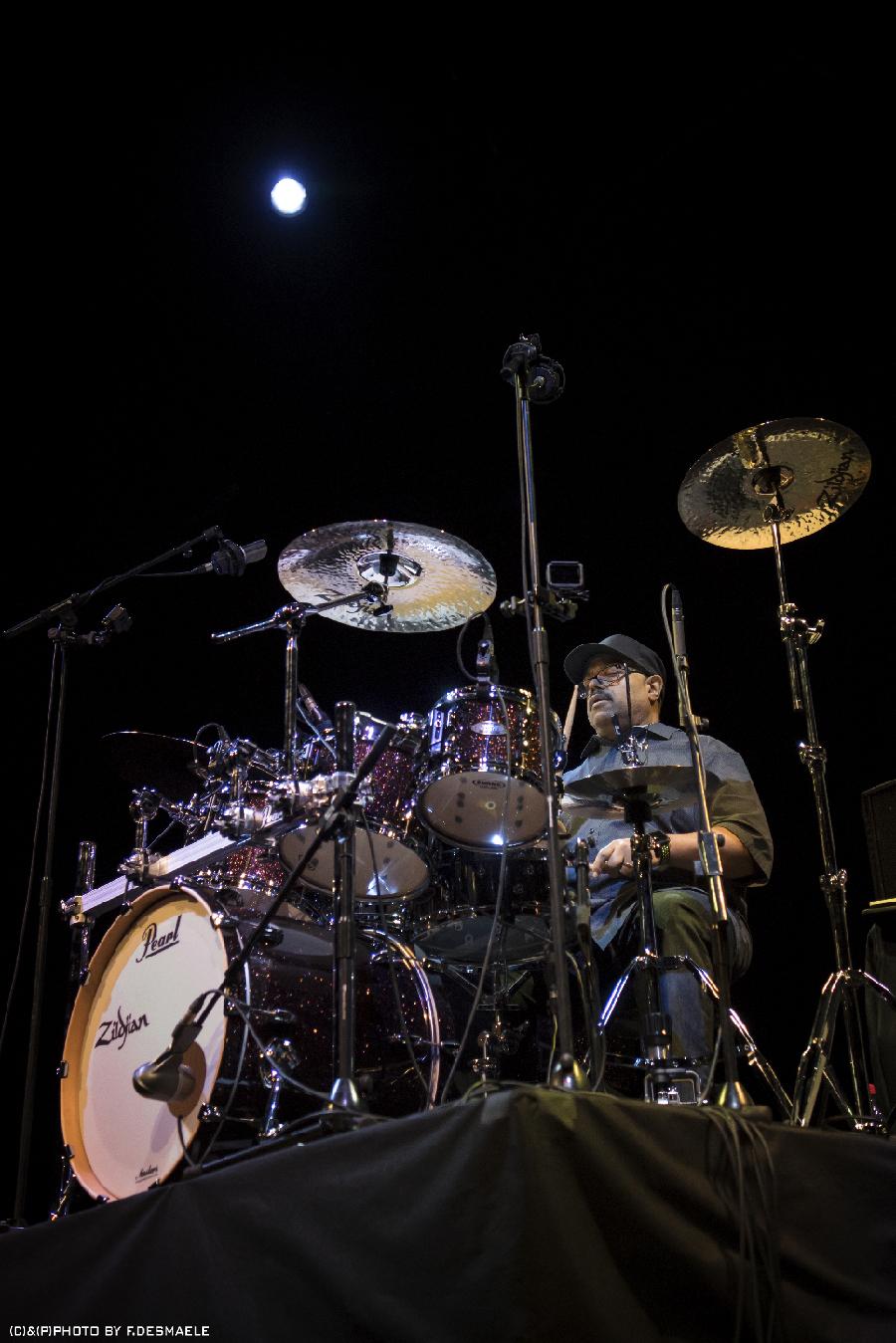 Francesco Desmaele The Uk Drum Show 2017 Dennis Chambres