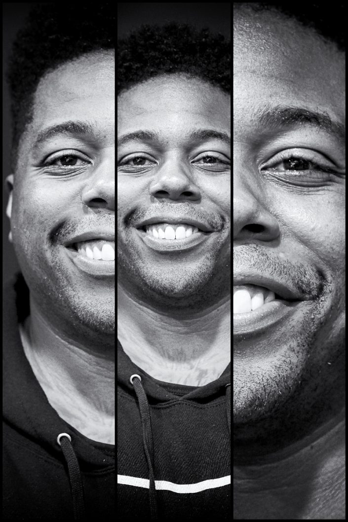 Aaron Spears Triplefaces by Francesco Desmaele