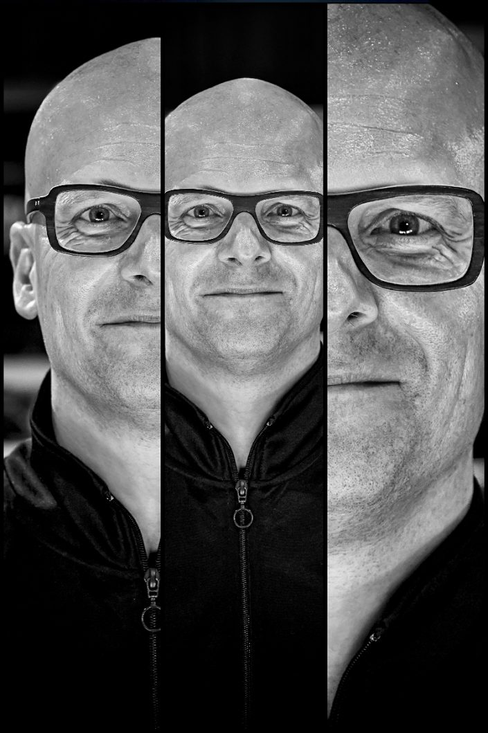 Michael Schack Triplefaces by Francesco Desmaele