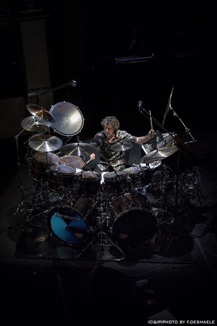 Simon Phillips by Francesco Desmaele