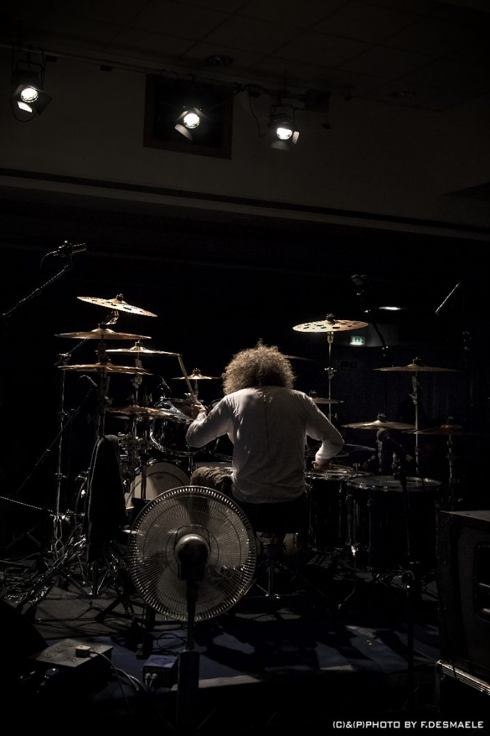 Tommy Aldridge by Francesco Desmaele